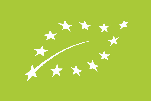 EU-logo - Biokaas Kinderdijk produces according European organic regulations